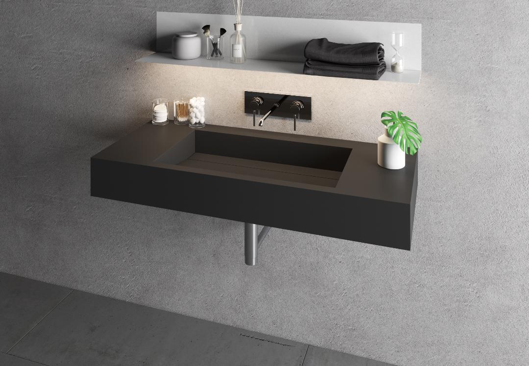 Lavorazione HPL laminati bagno